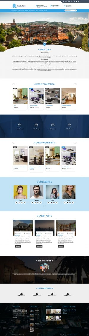 Premium Construction WordPress Theme